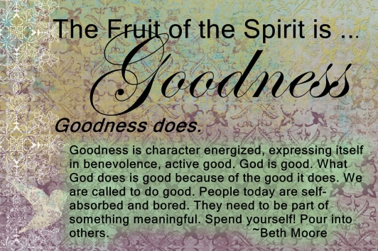 Image result for goodness fruit of the spirit